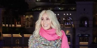 "Music Icon Cher Debuts ""Believe"" Fountains Show at World-Famous Fountains of Bellagio Las Vegas"