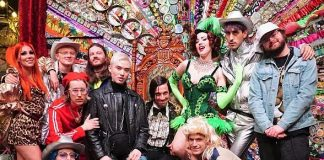 Chester Lockhart and Friends Attend ABSINTHE at Caesars Palace Las Vegas