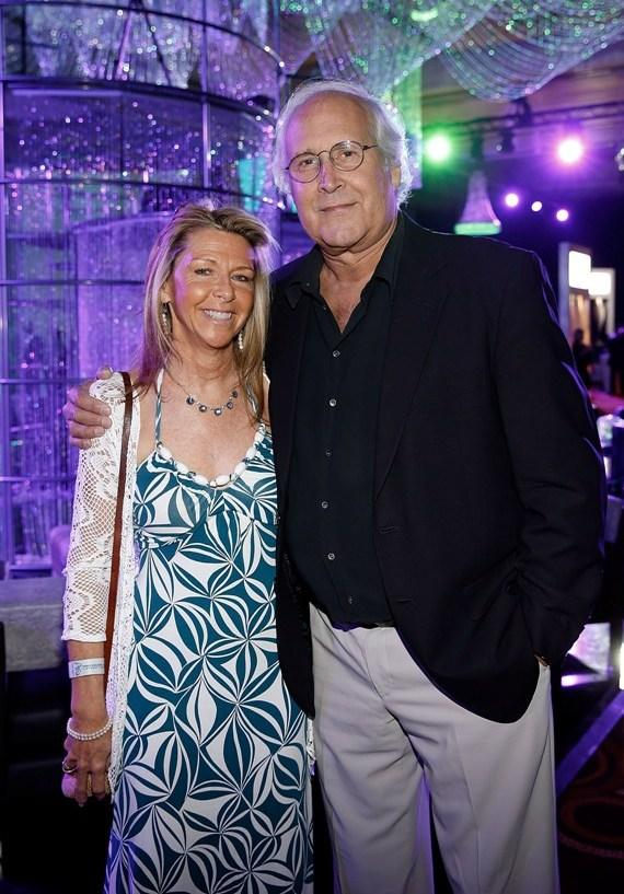 Chevy & Jayne Chase at MJCI Gala