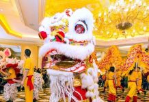 """The Venetian and The Palazzo Las Vegas Ring in the """"Year of the Rooster"""" with a Ceremonial Lion Dance"""