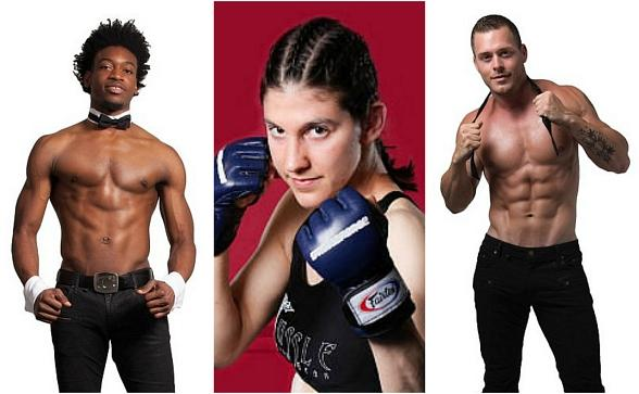 "Meet UFC's Roxanne Modafferi plus Chippendales Dancers Demitri Blizzeard and Ryan Worley at the 3rd Annual ""Mike Hammer Celebrity Go-Kart Race,"" a Benefit for Veterans on Oct. 22 in Las Vegas"