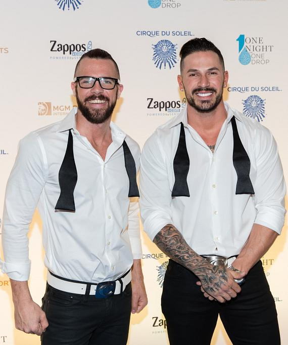 Chippendales at One Night for One Drop