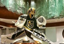 Bellagio Unveils 5-Foot Tall Marc-Andre Fleury Chocolate Sculpture; MGM Resorts in Las Vegas Offer Vegas Golden Knights Final Round Specials