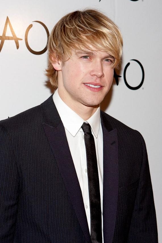 Glee's Chord Overstreet celebrates birthday at TAO Nightclub