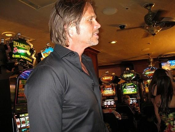 Chris Browning films Now You See Me at Golden Gate Casino, Las Vegas