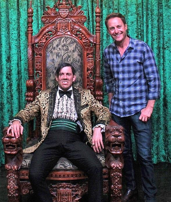 """""""The Bachelor's"""" Chris Harrison and The Who Keyboardist Loren Gold Attend """"ABSINTHE"""" at Caesars Palace Las Vegas"""