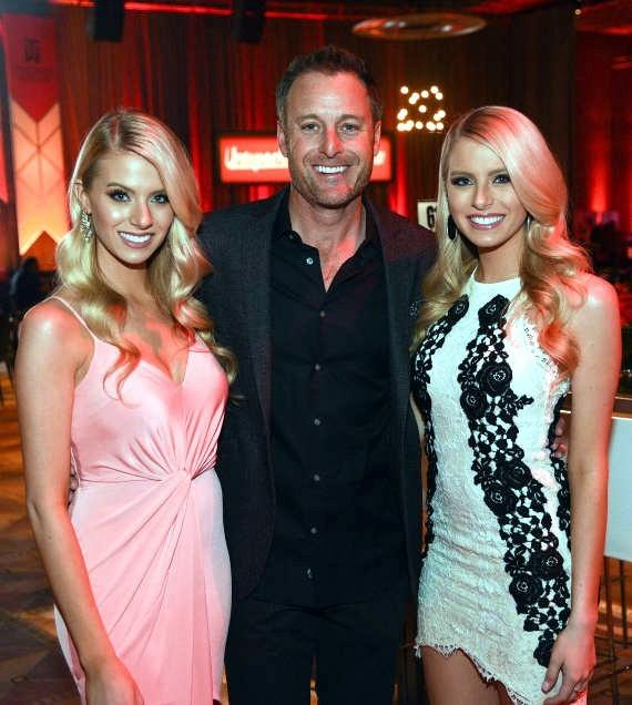 Chris Harrison and the Fergie Twins