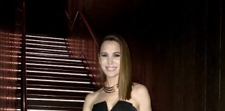 Actress Christy Carlson Romano Dines at MB Steak at Hard Rock Hotel Las Vegas