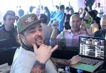 """""""Pawn Stars"""" TV star Chumlee spins Special Guest DJ Set at Ghostbar Dayclub at Palms"""