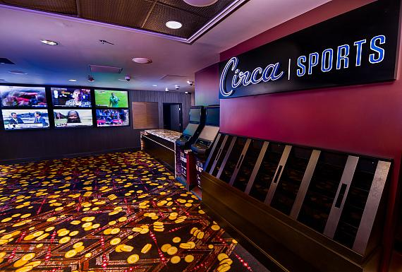 Circa Sports Book at the D Las Vegas 2019