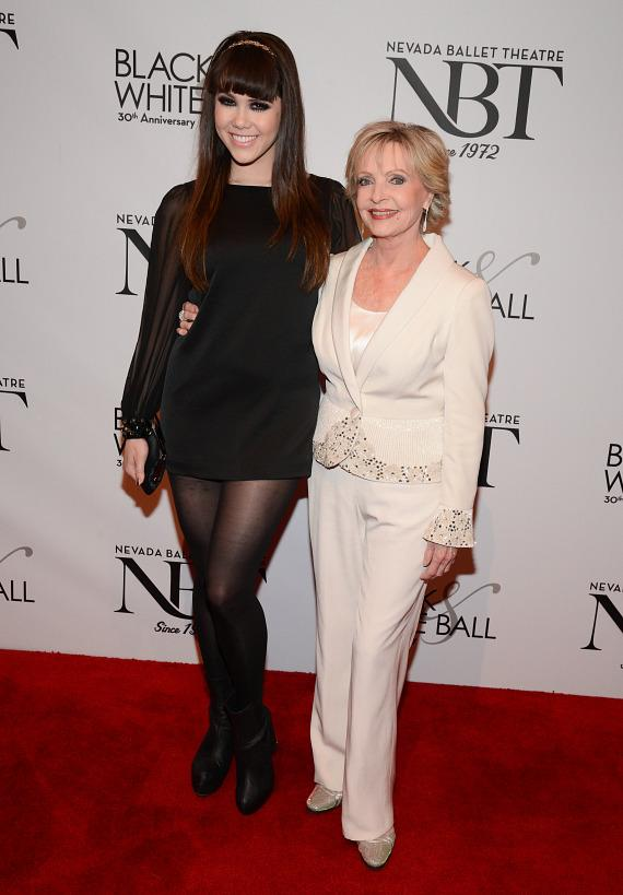 Claire Sinclair and Florence Henderson