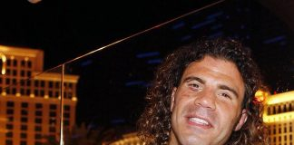 Clay Guida celebrates at Chateau Nightclub & Gardens at Paris Las Vegas
