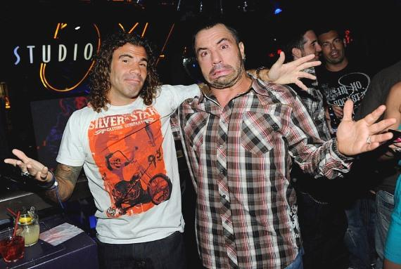 Sighting: UFC Fighters and Celebrity Friends Swarm Studio 54