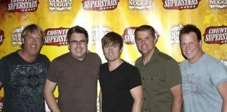 Lonestar Band Visits Former Frontman Cody Collins at Country Superstars at Golden Nugget Las Vegas