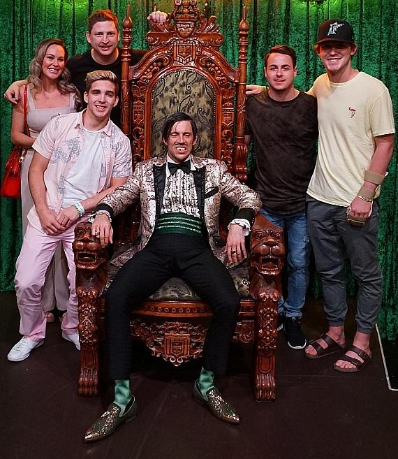 Colby Armstrong hosts Humboldt Hockey Team Tragedy Survivors at ABSINTHE at Caesars Palace