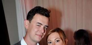 Colin Hanks and his wife Samantha Bryant