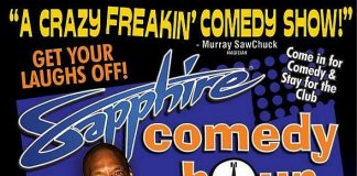 "Comedian Brandon ""Buffet"" Jackson to Headline Sapphire Comedy Hour, Saturday April 4"