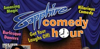 Angie Krum to Headline Sapphire Comedy Hour on Friday, Oct. 24 and Saturday, Oct. 25