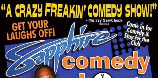 Comedian Clif Yates to Headline Sapphire Comedy Hour on Saturday, Dec. 13
