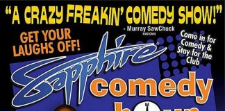Lance Montalto to Headline Sapphire Comedy Hour, Saturday September 12