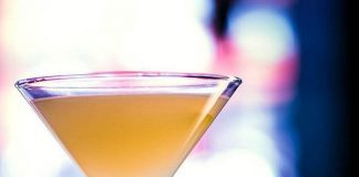 """Commonwealth's January featured cocktail, the """"You Bet Giraffes."""""""