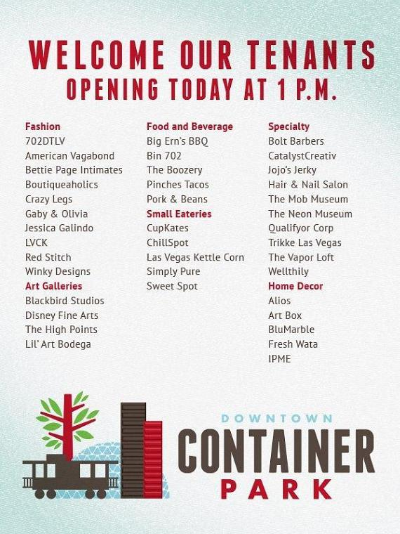 Container Park businesses