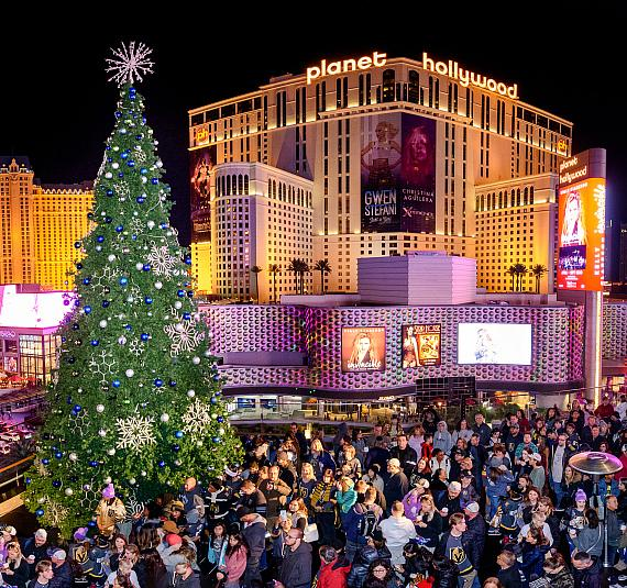 Cosmopolitan Tree Lighting Ceremony