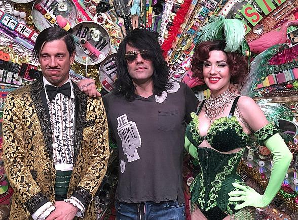 Criss Angel Attends ABSINTHE at Caesars Palace in Las Vegas