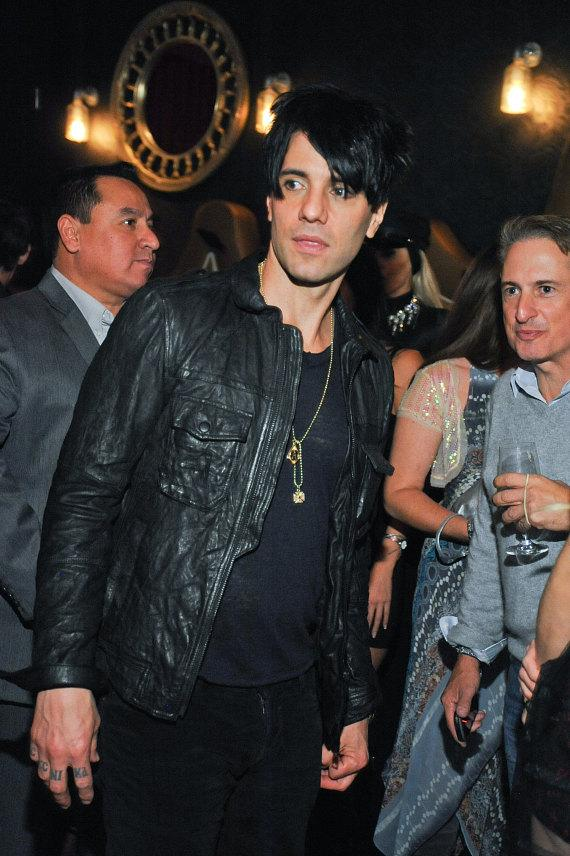 Criss Angel celebrates the 5th anniversary of CRISS ANGEL Believe on Wednesday, Oct. 30 with guests at Rx Boiler Room
