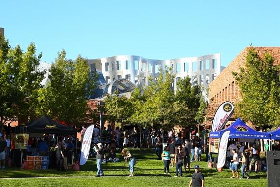 Scene from last year's Downtown Brew Festival