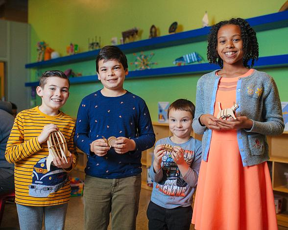 New DISCOVERY Lab Brings Innovative, Hands-on Makerspace to DISCOVERY Children's Museum
