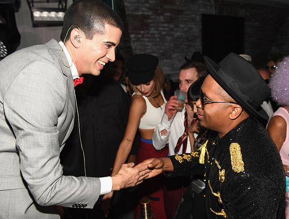 DJ Cassidy and Nas attend Casamigos Halloween party at CATCH Las Vegas at ARIA Resort & Casino