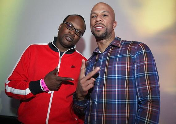 Common performing at Rain Nightclub