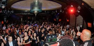 Rev Run and DJ Ruckus at LAVO for Old School Wednesdays