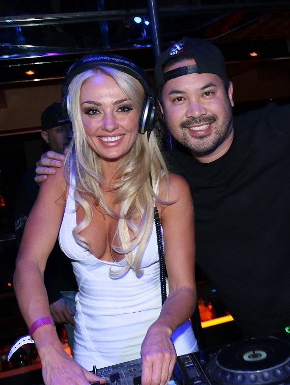 Brooke Evers an DJ Skratchy at Crazy Horse III