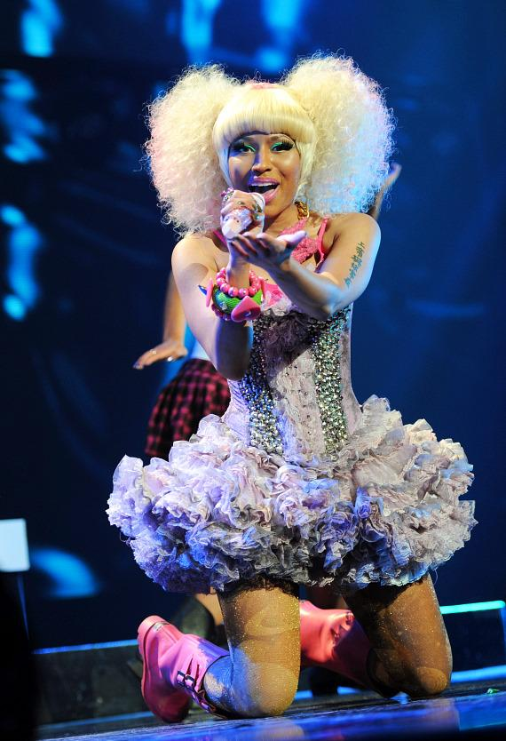 Nicki Minaj performs at iHeartRadio Music Festival in Las Vegas