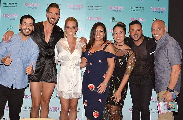 """Sex Tips for Straight Women from a Gay Man"" Headliners Jai Rodriguez and Kendra Wilkinson Help Guest with Surprise Proposal at Paris Las Vegas"