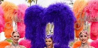 """""""Extra"""" Host Maria Menounos Helps Caesars Entertainment and Starwood Preferred Guest Make Special Announcement"""