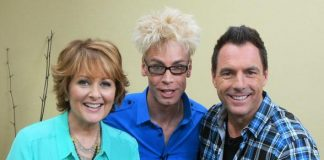 Murray SawChuck with co-hosts Christina Ferrare and Mark Steines