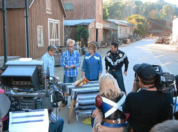 Murray SawChuck tapes his second appearance on Hallmark's 'Home & Family'