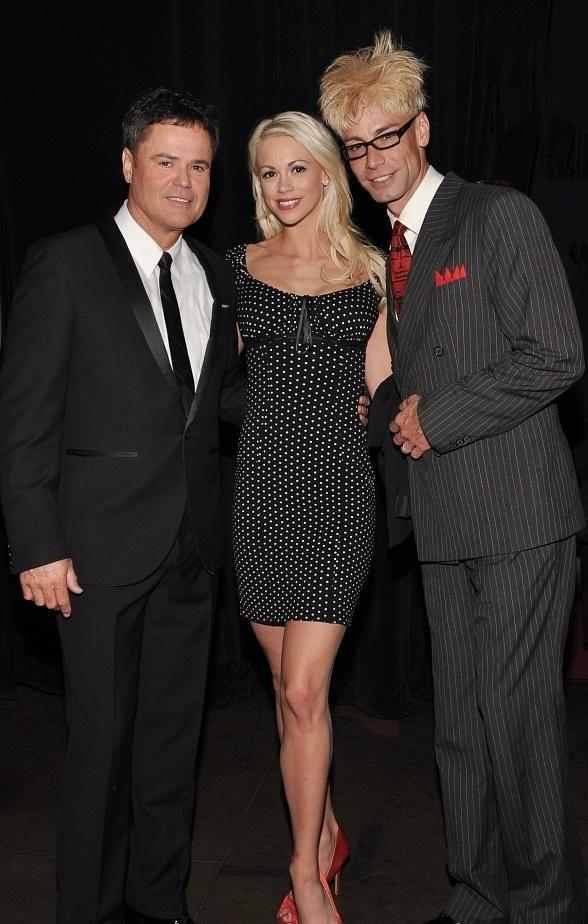 Donny Osmond with Chloe Crawford and Murray SawChuck