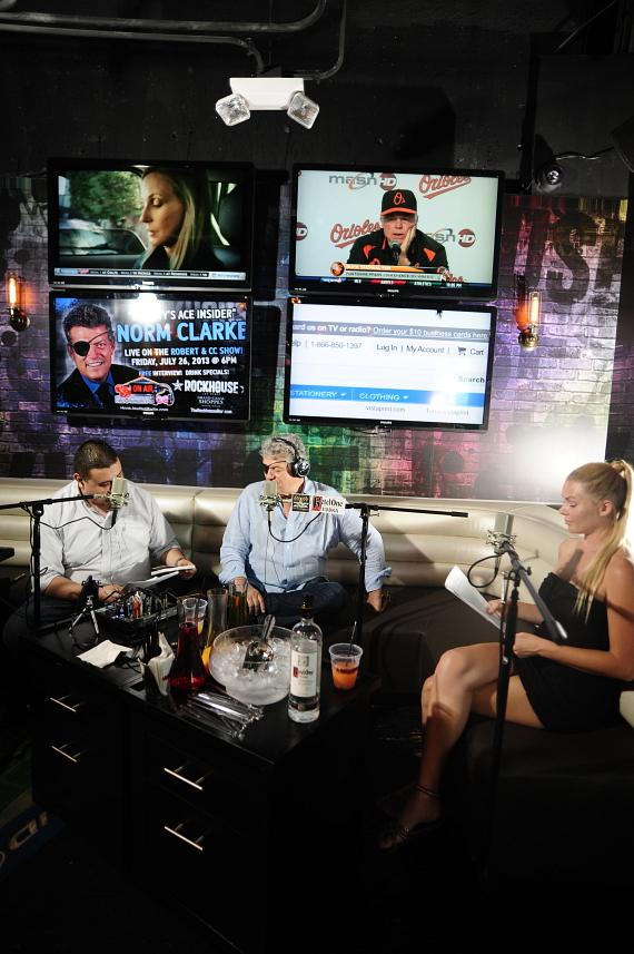 Norm Clarke goes 'On Air with Robert & CC' at Rockhouse Las Vegas