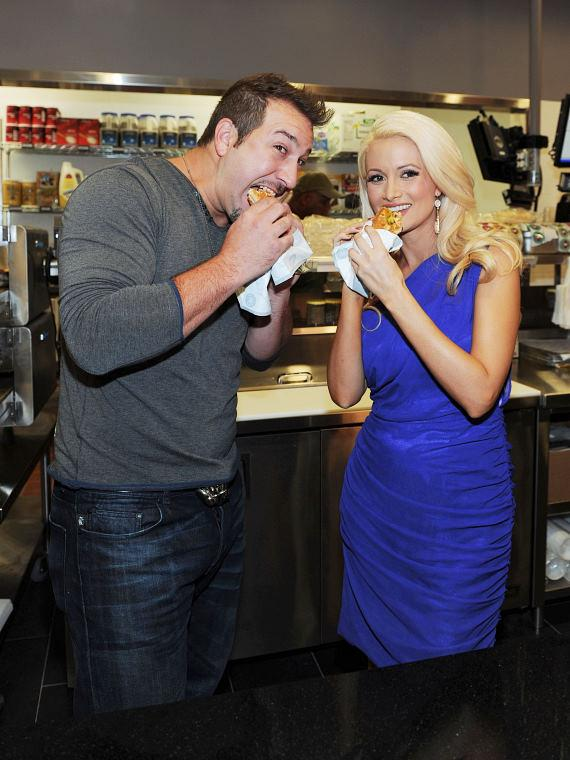 Holly Madison at Earl of Sandwich Opening at The Palms