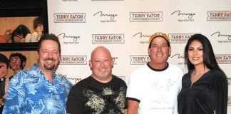 NASCAR Drivers Make a Pit Stop to See Terry Fator