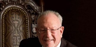 Meet Oscar Goodman in Oscar's Steakhouse at the Plaza Hotel & Casino Las Vegas August 7-9