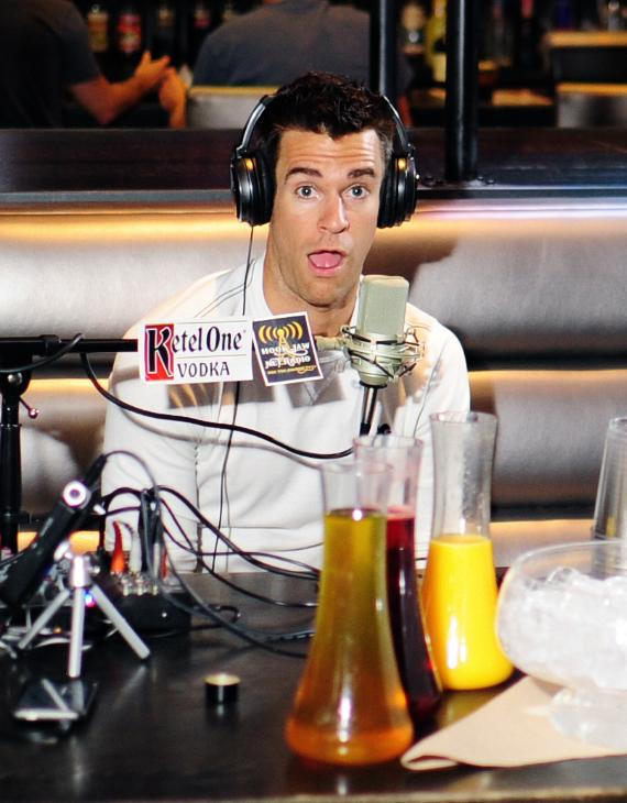 Jeff Civillico Goes 'On Air with Robert & CC' at PBR Rock Bar