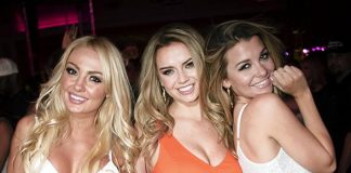 Instagram Supermodel Lauren Hanley Celebrates 21st Birthday at Encore Beach Club