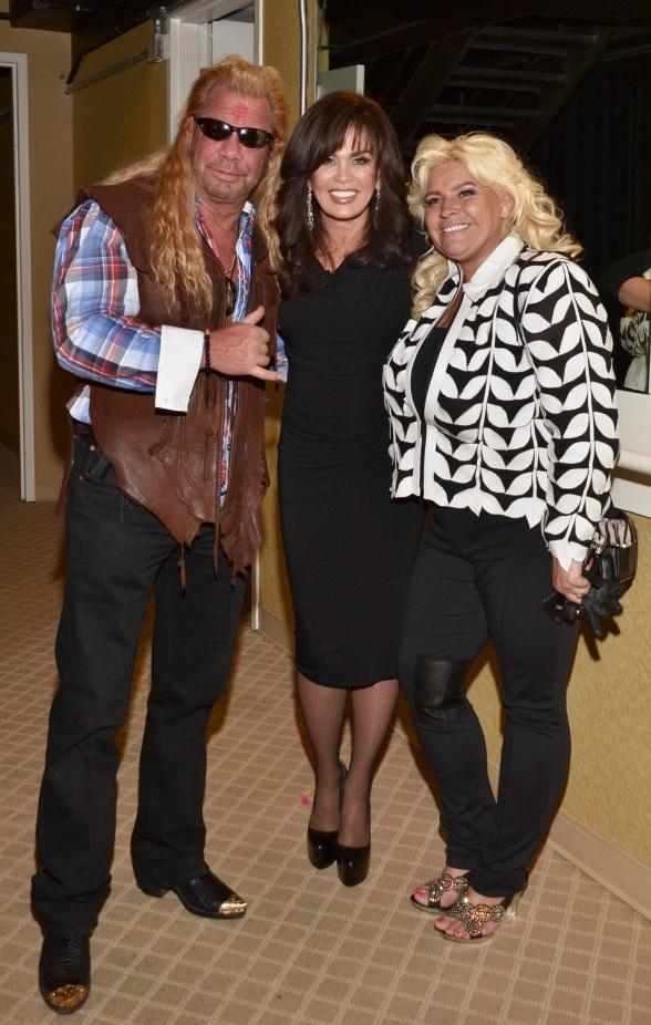 Dog The Bounty Hunter At Donny Amp Marie Show At Flamingo