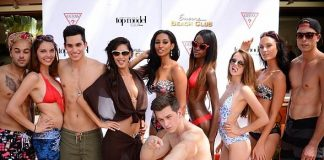 """Guess Hosts """"Recess Fridays"""" Party with """"Americas Next Top Model"""" Alumni"""