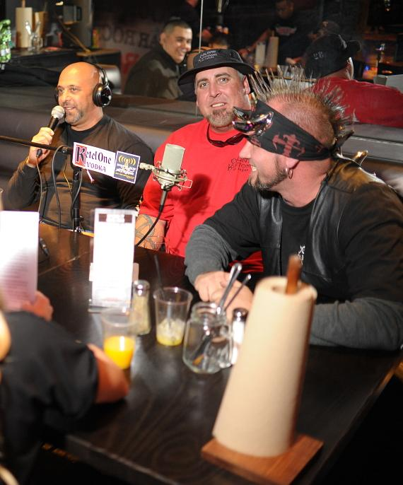 Kevin, Scott and Horny Mike of Counting Cars